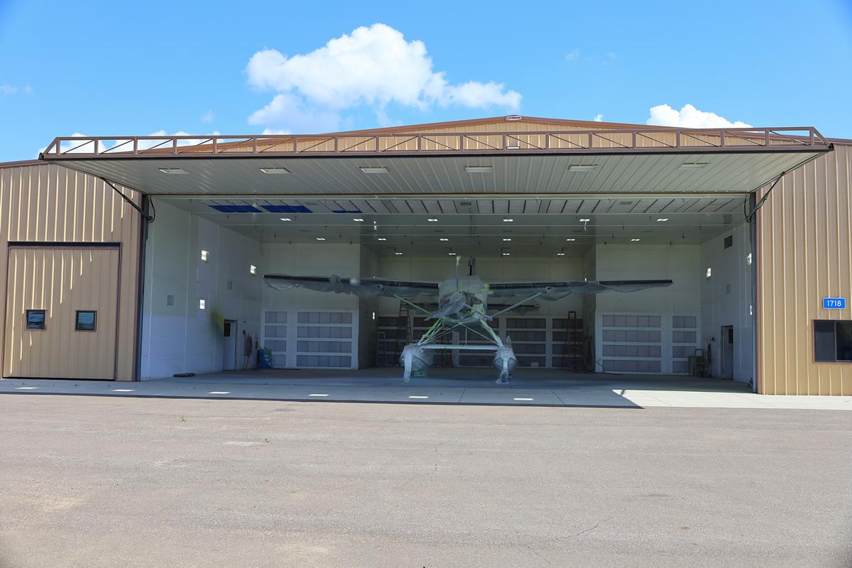 Airport With Nine Doors