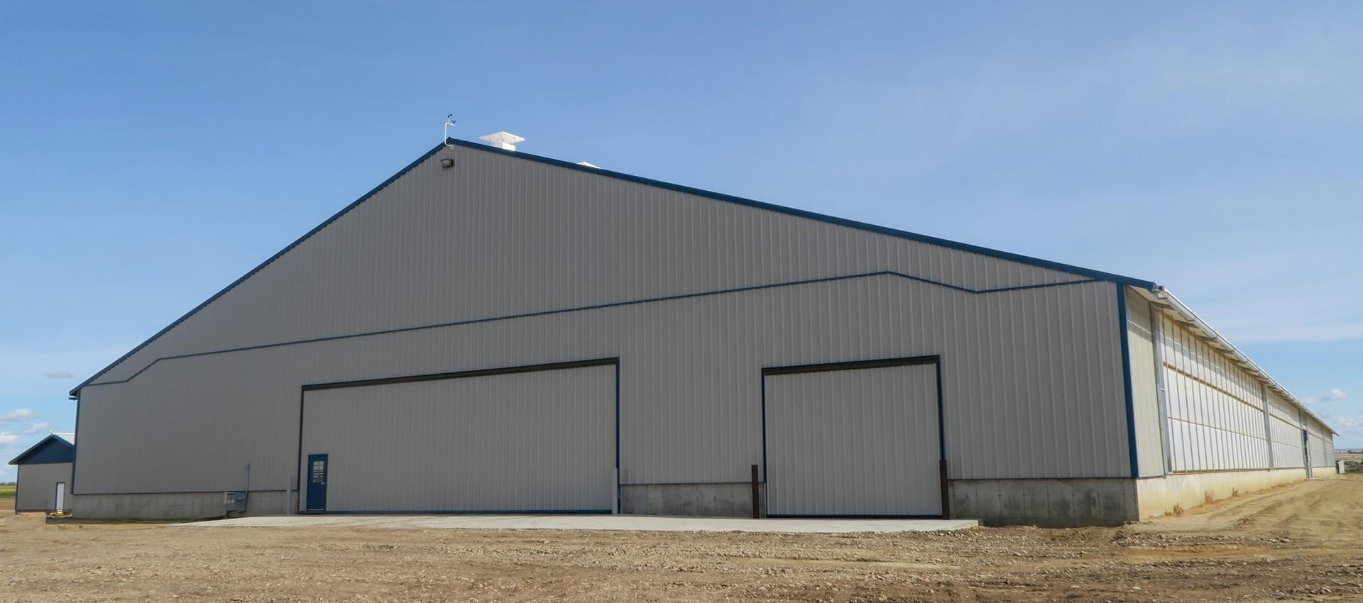 150' x 500' Beef Housing
