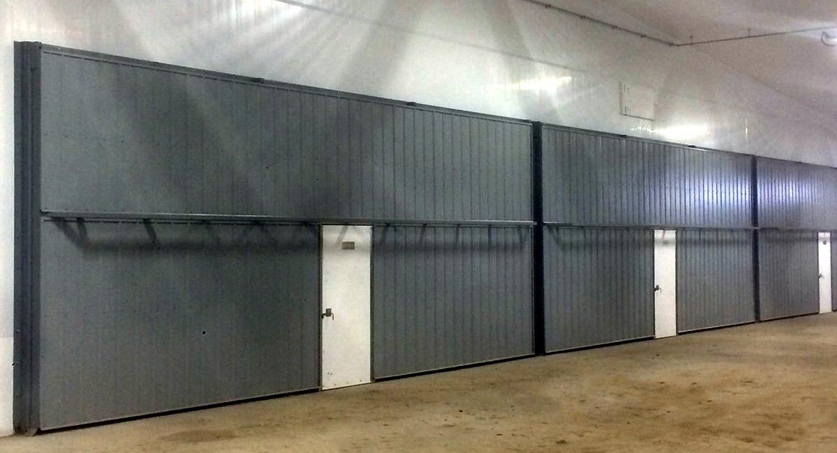 Calf Barn Doors, No Thresholds.