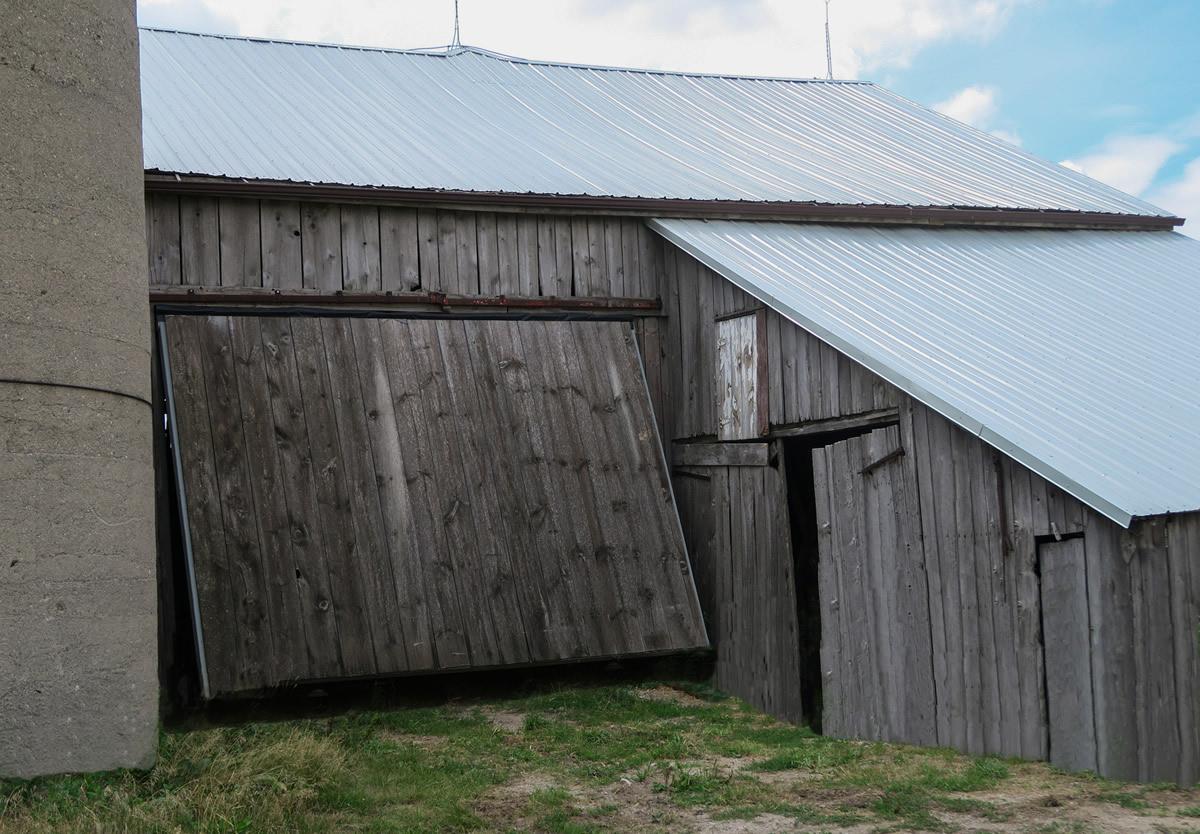 Vintage 1800's Wood Barn Retrofit.