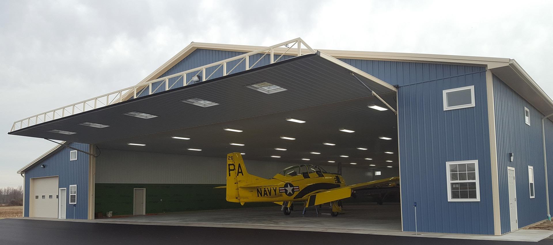 Multi-Aircraft Taxi Through Hangar