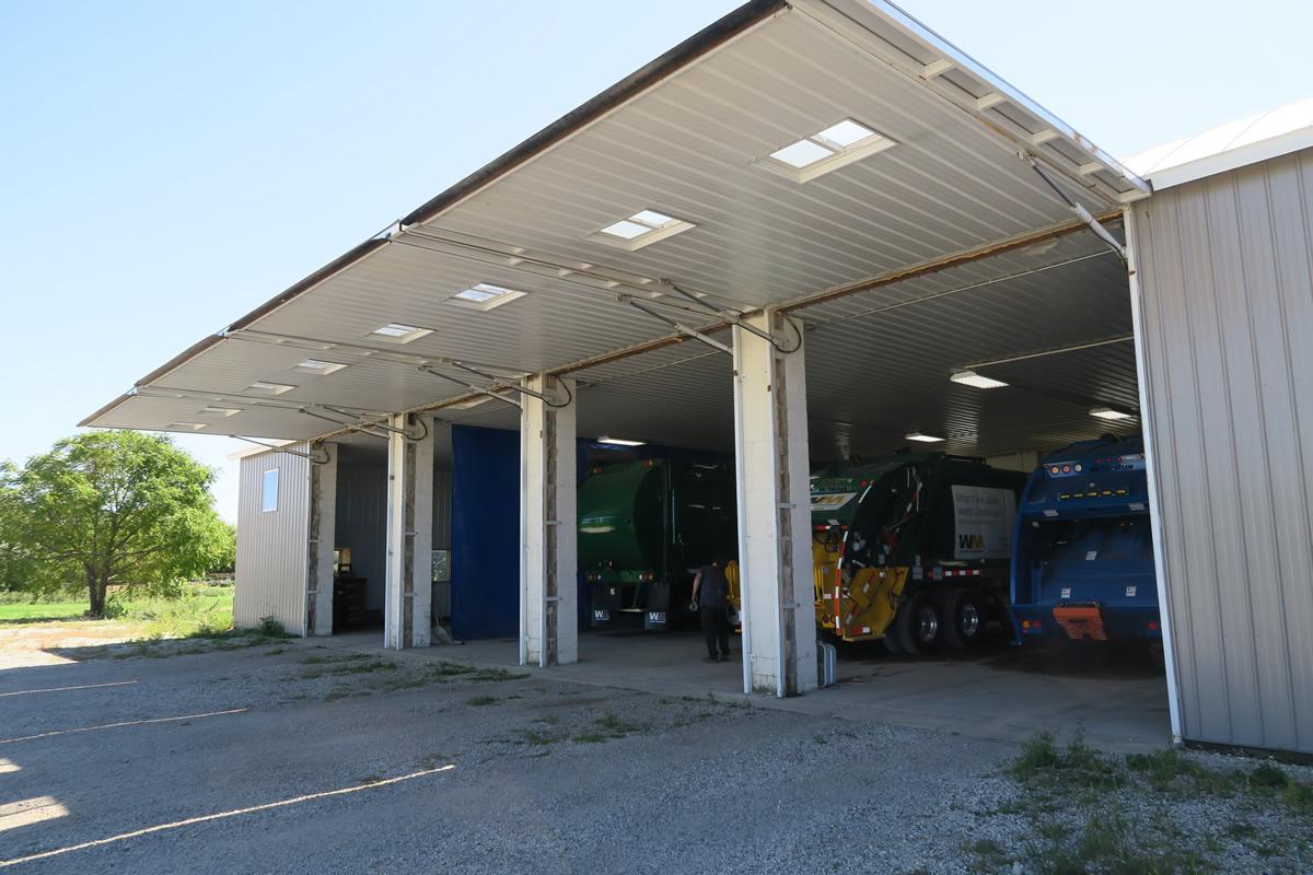 Truck Garage Thirteen Doors