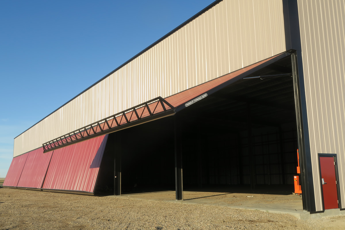 Warehouse Has Four Doors