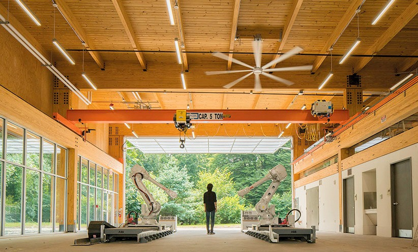 University Architectural Lab Doors.