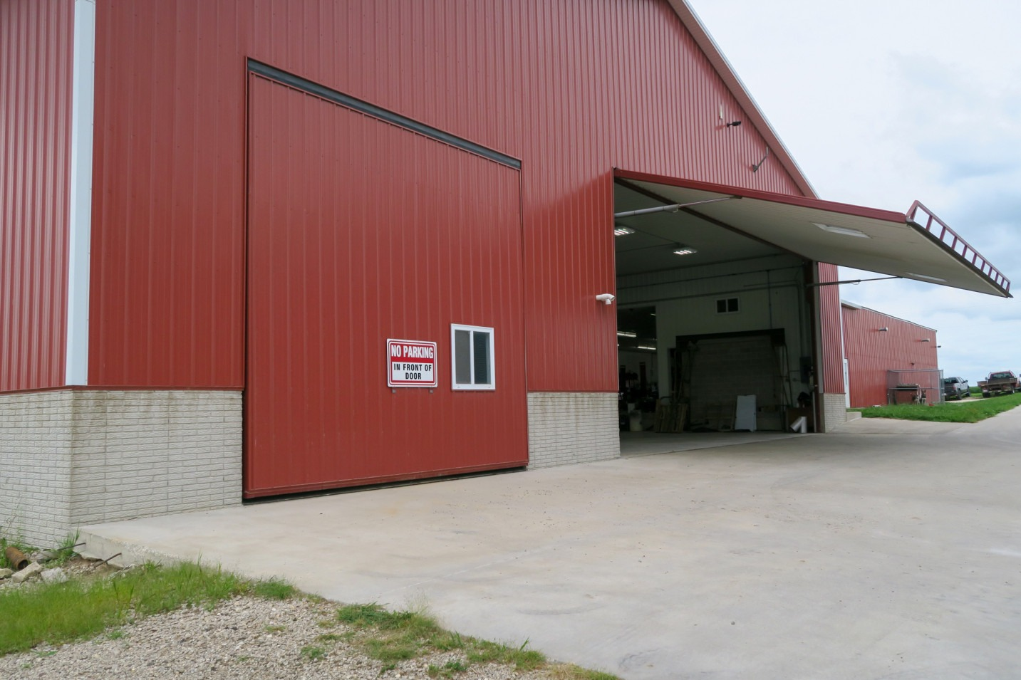 Farm With Four PowerLift Doors